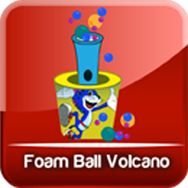 BubblePark - Foam Ball Volcano