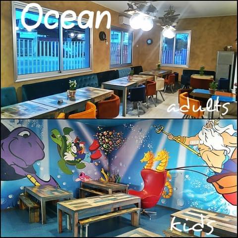 Ocean both rooms